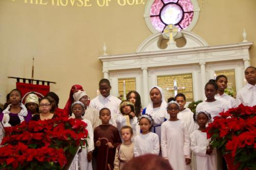 Sunday school performing at Epiphany Pageant